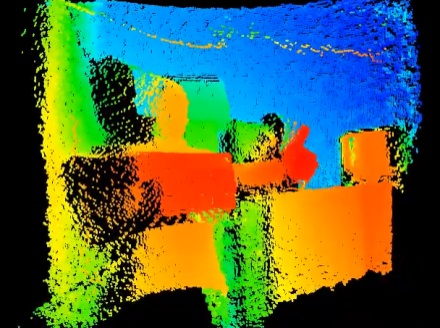 ToF Pseudo 3D Image Heat Map